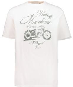 Ulla Popken T-Shirt, Vintage Motorrad-Motiv, Halbarm - Große Größen 716748