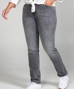 Ulla Popken Jeans Sammy, Knitterfalten, schmales Bein, 5-Pocket - Große Größen 724423