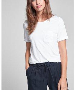 T-Shirt Tessa in Weiß