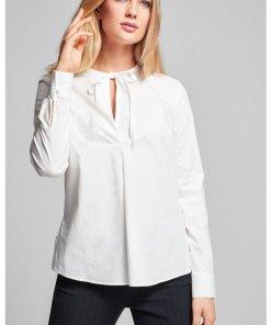 Bluse Bes in Weiß