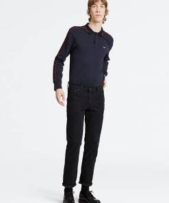 511™ Slim 5 Pocket Trousers - Schwarz / Caviar