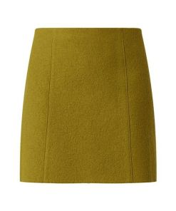 Minirock aus Schurwolle
