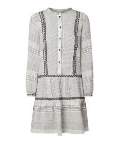 Kleid aus Baumwolle mit Stickereien