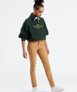 721™ High Waisted Skinny Jeans - Khaki / Golden Khaki Luxe Cord