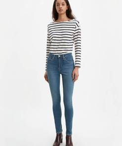 721™ High Waisted Skinny Jeans - Helle Waschung / Los Angeles Sun