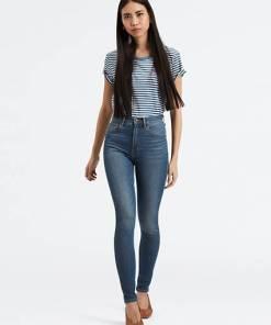Mile High Super Skinny Jeans - Indigo / Indigo
