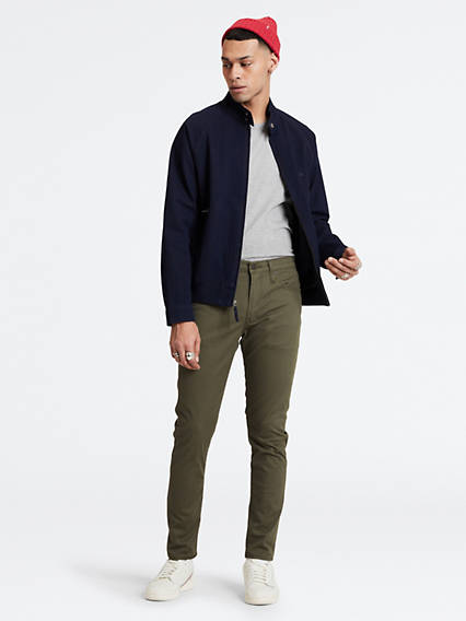 512™ Slim Taper Fit Trousers - Grün / Olive Night Sorbtek