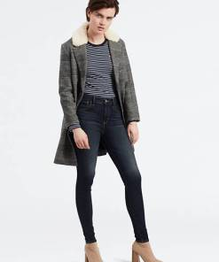 720™ High Waisted Super Skinny Jeans - Dunkle Waschung / Salt Lake Blues