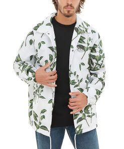 VANS Torrey Coaches Jacke (rubber Co. Floral) Herren Weiß, Größe L
