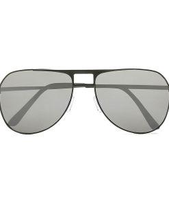 VANS Hayko Shades Sonnenbrille (matte Black-silver Mirror) Herren Schwarz, One Size