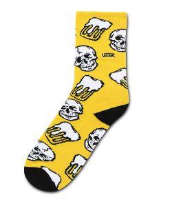 VANS Back For More Crew Socken (1 Paar) (sulphur) Herren Gelb, One Size