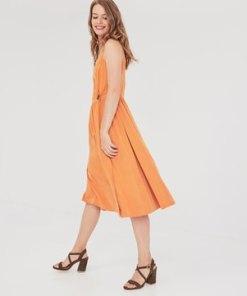 Wickelkleid aus Modal