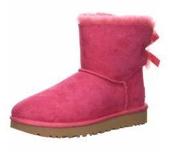 UGG Stiefeletten lila/pink Mini Bailey Bow 42