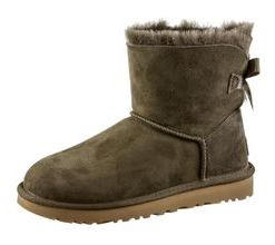 Ugg Mini Bailey BOW II Stiefel Damen in euculyptus spray, Größe 39