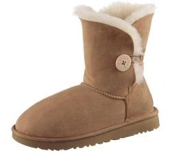 Ugg Bailey Button II Stiefel Damen in chestnut, Größe 39
