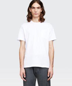 Aspesi T-shirts und Polo - T-Shirt aus Baumwolljersey OPTISCHES WEISS 100% Baumwolle S