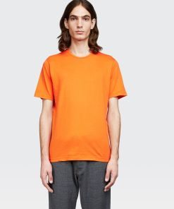 Aspesi T-shirts und Polo - JERSEY-T-SHIRT ORANGE 100% Baumwolle L