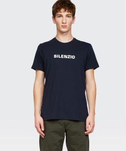 Aspesi T-shirts und Polo - SILENZIO T-Shirt NAVYBLAU 100% Baumwolle XS