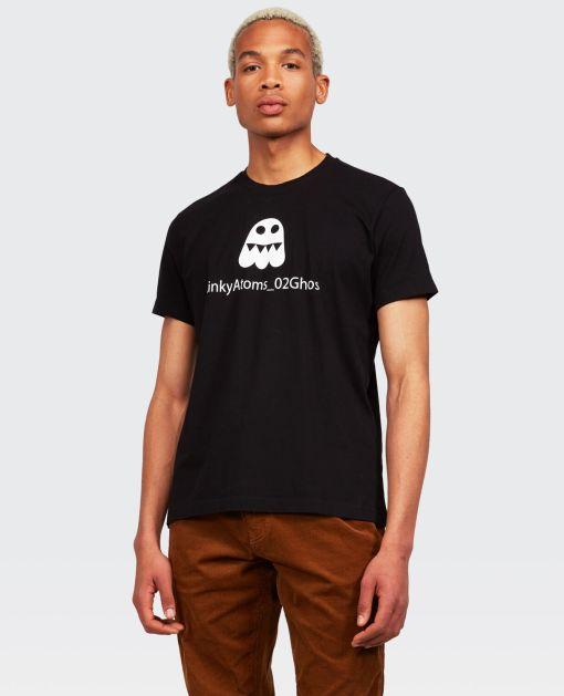 Aspesi T-shirts und Polo - GHOS T-SHIRT SCHWARZ 100% Baumwolle S