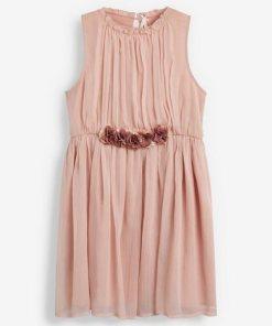 Next Korsagenkleid rosa