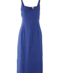 heine TIMELESS Kleid mit Seitenschlitzen blau