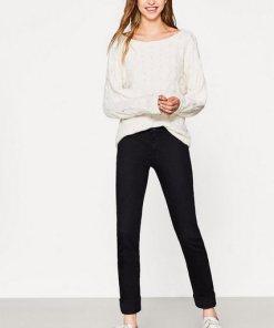 Esprit Basic-Stretch-Jeans mit Organic Cotton schwarz