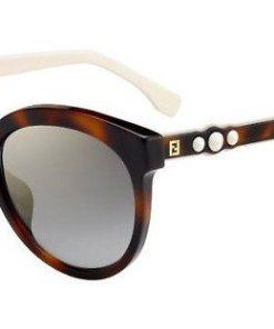 FENDI Damen Sonnenbrille »FF 0268/F/S« braun