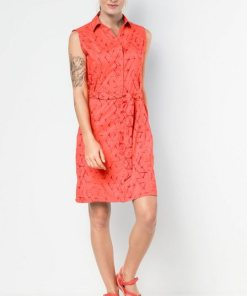 Jack Wolfskin Sommerkleid »SONORA SHIBORI DRESS« orange