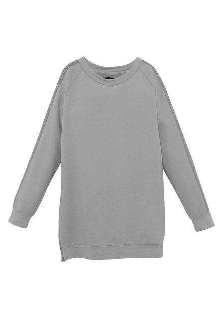 Chiemsee Strandkleid »CHIEMSEE Sweatkleid für Mädchen« grau