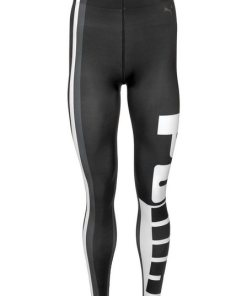 PUMA Funktionstights »VARSITY TIGHT« schwarz