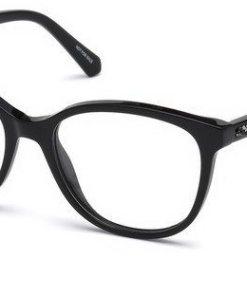 Swarovski Damen Brille »SK5264« schwarz