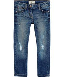 Next Jeans Skinny Fit für Mädchen blau