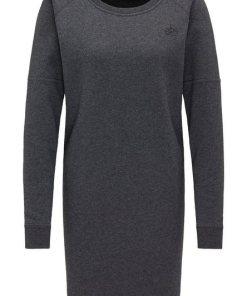 Dreimaster Sweatkleid grau
