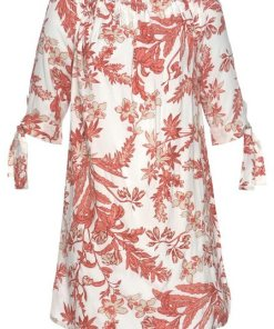 LASCANA Blusenkleid mit floralem Druck