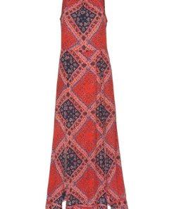 Superdry Maxikleid »BOHO MAXI DRESS« mit extravaganten Schlitzen