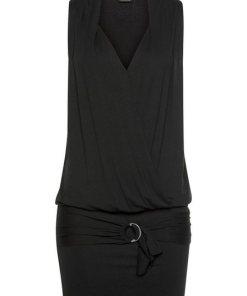 LASCANA Longshirt schwarz