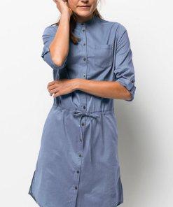 Jack Wolfskin Hemdblusenkleid »INDIAN SPRINGS DRESS« blau