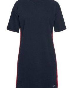Superdry Sweatkleid »GEORGIA SHORT SLEEVE SWEAT DRESS« im Trend Athleisure blau