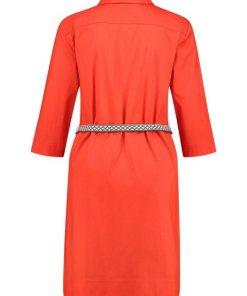 GERRY WEBER Kleid Gewebe »Hemdblusenkleid« bunt