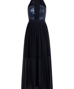 Apart Abendkleid blau