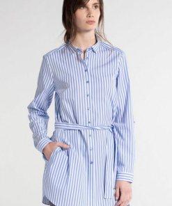 Eterna Langarm Blusenkleid »MODERN CLASSIC« blau