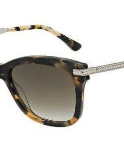 JIMMY CHOO Damen Sonnenbrille »SHADE/S« braun