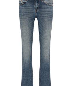 MUSTANG Jeans Hose »Sissy Straight« blau