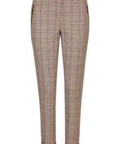 Daniel Hechter Moderne Anzughose mit breitem Umschlag braun