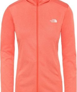 The North Face Pullover »Quest Full Zip Midlayer Damen« orange