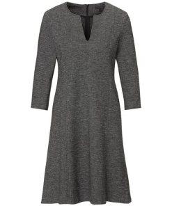 Marc O'Polo A-Linien-Kleid grau