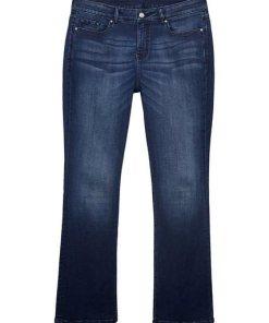 Esprit CURVY Superstretch-Jeans mit Wrinkle-Effekten blau