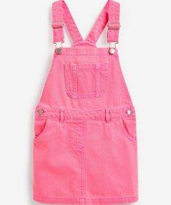 Next Denim-Trägerkleid rosa