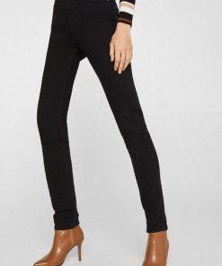 Esprit Stretch-Jeans mit hohem Bund schwarz