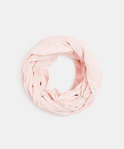 Esprit Loop-Schal aus 100% Baumwolle rot